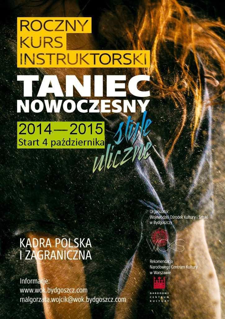 Roczny kurs intruktorski 2014-15
